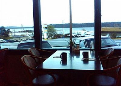 Inside Port McNeill's oldest high school hangout, the Dalewood Inn Restaurant