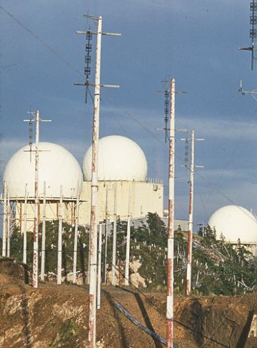 GATR site antennas and radomes in Operations site - May 1970