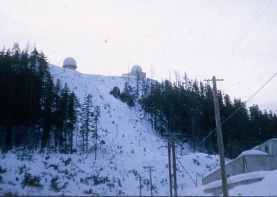 Operations site as seen from the Power Plant area - March 1965