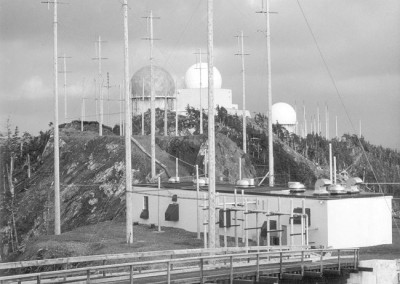 The Operations site as seen from the Comm site