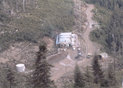 The Power Plant as seen from the Operations site