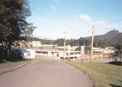 The apartments and the paved roads were new additions from the 1960