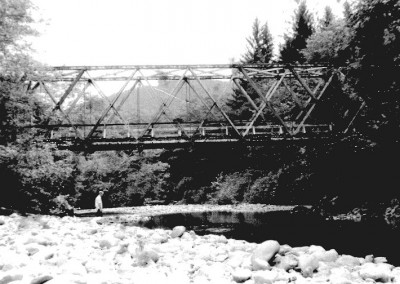 The old Government bridge