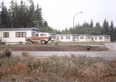The trailer park at CFS Holberg