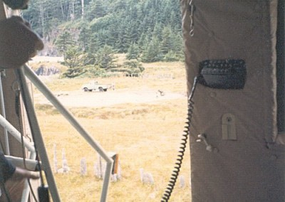 The truck was the objective and we slung it back to Holberg - May 1974