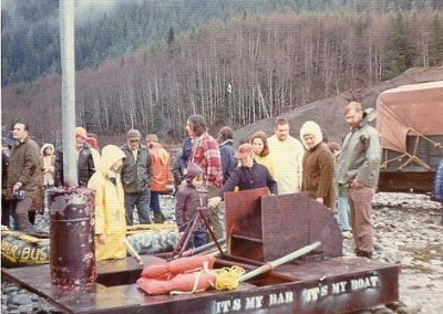 Vehicle Maintenance entry in the Klondike Daze raft race - October 1974