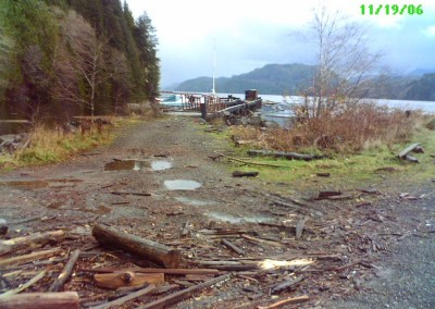 Holberg Dock in 2006
