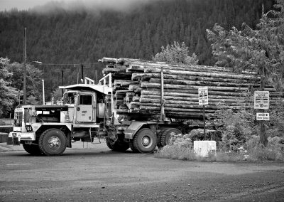 Western Forest Products, Holberg Log Yard